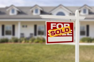 What is the process included on buying houses with loan?